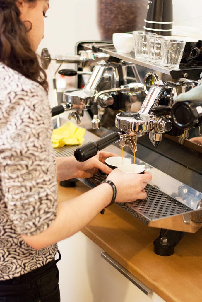 Latte art - Coutume café