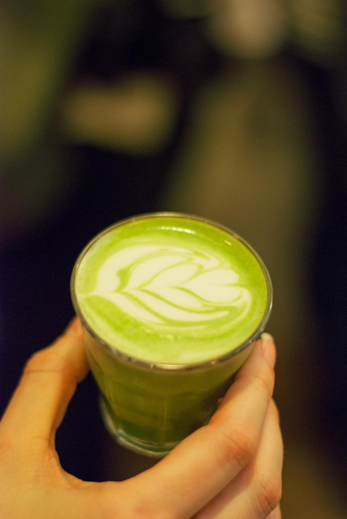 Matcha latte - Umami
