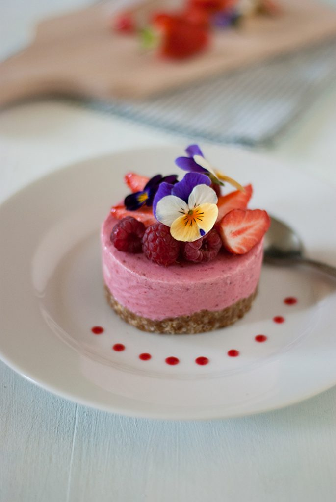 Cheesecake glacé - sans gluten