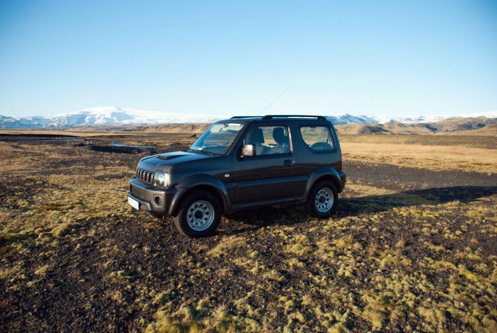 Suzuki Jimny in Iceland