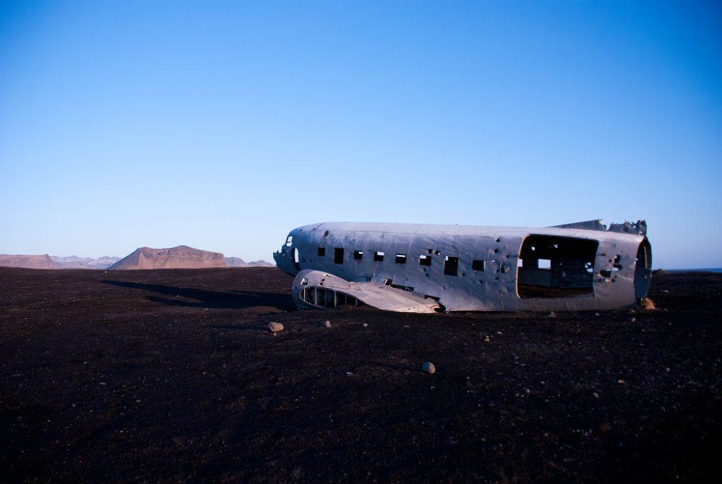 US Navy plane - iceland