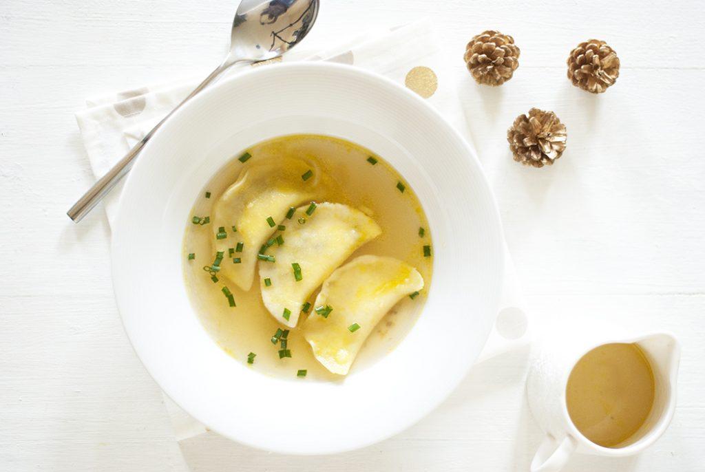Ravioles à la truffe - Vegan & sans gluten