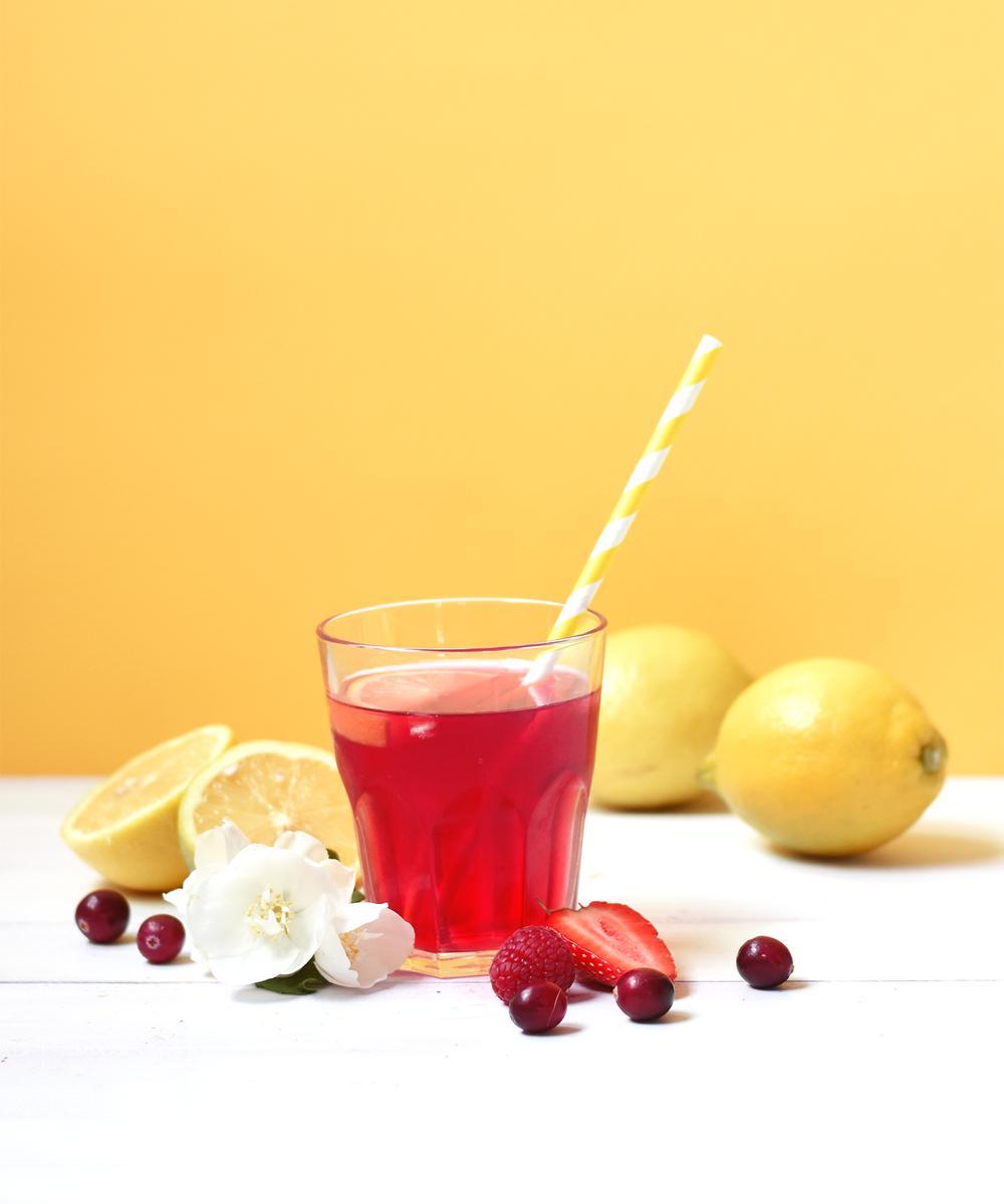 Les thés glacés Kusmi - Aqua Fizz à associer avec le citron