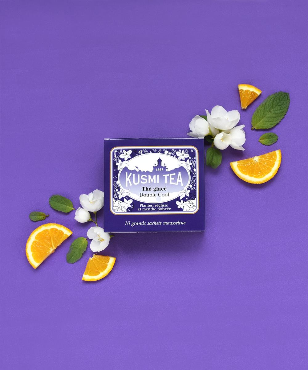 Les thés glacés Kusmi - Double à associer avec l'orange